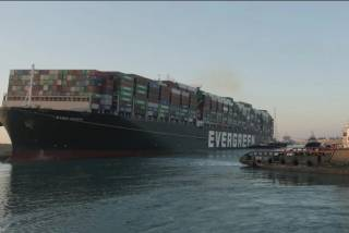 """""""Challenge still ahead"""" to free container ship EVER GIVEN in Suez Canal"""
