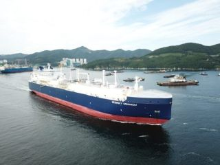 Teekay Receives Fifth Arc7 Icebreaking LNG Carrier - Georgiy Ushakov