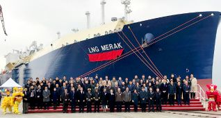 LNG Carrier for Yamal LNG Project Named LNG MERAK