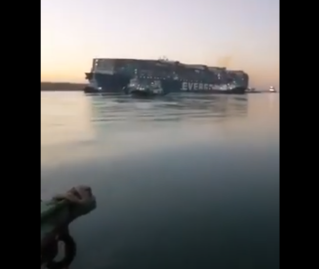 Ever Given ship Successfully Refloated in Suez Canal, Video shows her floating
