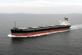 Third Generation Lily Fortune Coal Carrier Enters Service for Tohoku Electric Power