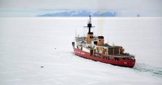 The U.S. Coast Guard Cutter heavy icebreaker Polar Star to deploy to the Arctic this winter