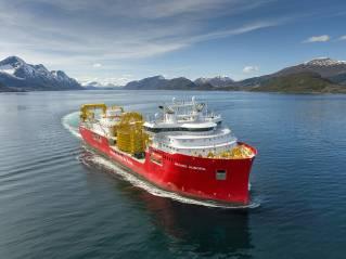 Ulstein delivers CLV vessel Nexans Aurora
