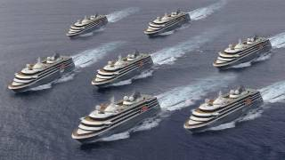 Kongsberg Maritime Wins 300 MNOK Contract to Equip Four New Cruise Vessels