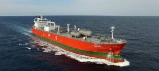 KSS Line smart ship solution powered by Inmarsat and Intellian