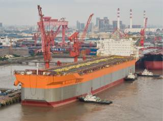 Chinese yard delivers second Fast4Ward FPSO to SBM Offshore