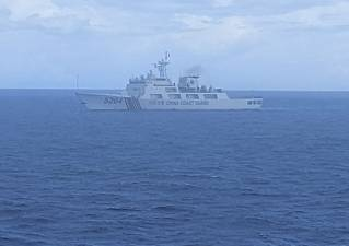 Indonesian patrol confronts Chinese Coast Guard ship in economic zone