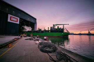 DEME and Royal IHC launch trailing suction hopper dredger 'Meuse River'