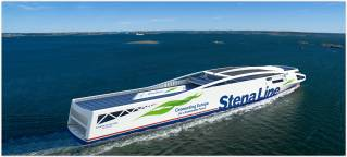 Stena Line reduces CO2 ten years ahead of emissions' targets