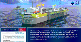 ABS Approves of ICE's Generic FPSO Hull Design