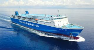 Trans-Asia Launches Biggest Brand New RoPax from Japan, mv TA21