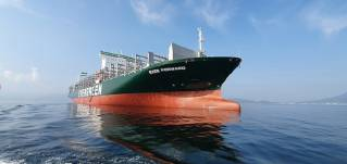 LR awards Digital Safe Security certification to Evergreen for its 12k TEU container ship newbuilding