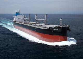 Kawasaki delivers bulk carrier Royal Orion