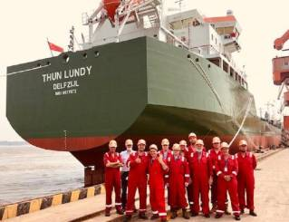 Thun Tankers takes delivery of fifth L-Class product tanker at China Merchants Jinling Shipyard