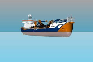 DMC wins steering & rudder systems order for three new TSHDs