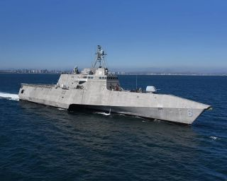 Independence-Class LCS 8 operates successfully with Royal Australian Navy in South China Sea