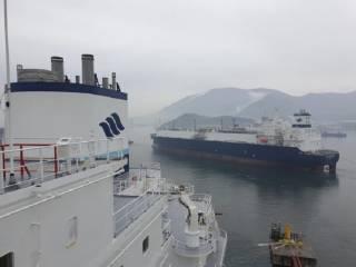 GasLog's LNG newbuild starts gas trials