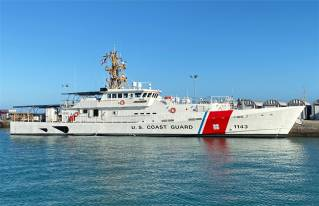 Bollinger Shipyards delivers 43rd Fast Response Cutter strengthening USCG strategic presence in the Indo-Pacific theater