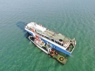 NYK Group RORO Carrier Rescues Fishermen at the Strait of Malacca