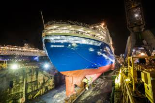 Damen Shiprepair Amsterdam completes triple cruise ship maintenance & repair programme