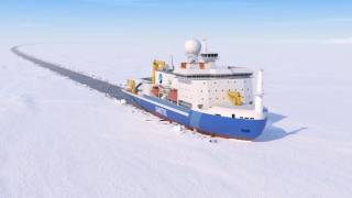 Japan to get LNG-fueled icebreaker for Arctic research (Video)