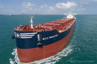 Collision between bulkers Bulk Shenzhen and RB Lisa whilst navigating under pilot on the Yangtze River