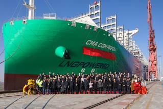 Hudong-Zhonghua Shipbuilding names CMA CGM Rivoli