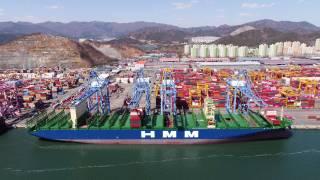 LNG-ready 16,000 TEU HMM Nuri joins HMM's fleet