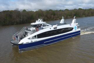 Low Emission Incat Crowther Ferries Delivered to NYC Ferry by Hornblower