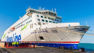 Stena Line takes delivery of new ferry Stena Estrid