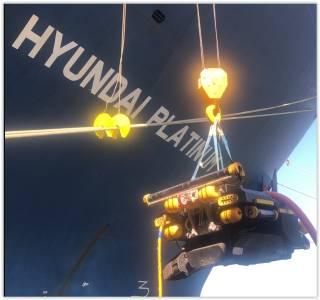 Hyundai Merchant Marine deploys underwater robots for hull cleaning