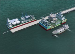 Kawasaki's LNG Floating Power Plant (CCPP Model) Obtains AiP from DNV GL
