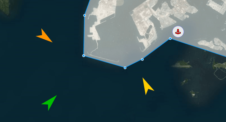 All ships expected to arrive at specific port, ETA, VesselFinder AIS API