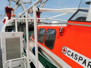 Photo of CASPAR ship