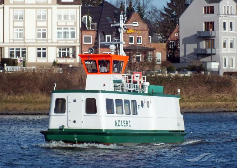 ADLER I (MMSI: 211549030) ; Place: Kiel_Holtenau/NOK