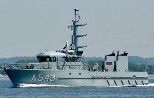 Photo of HDMS ERTHOLM ship