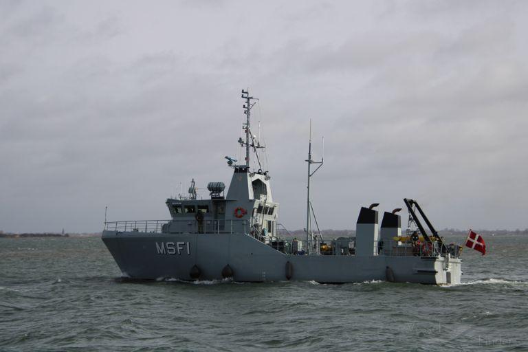 NATO WARSHIP MSF 1