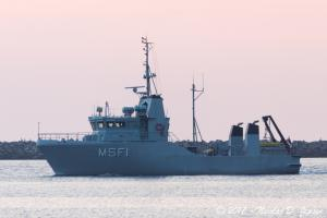 Photo of MSF 1 ship