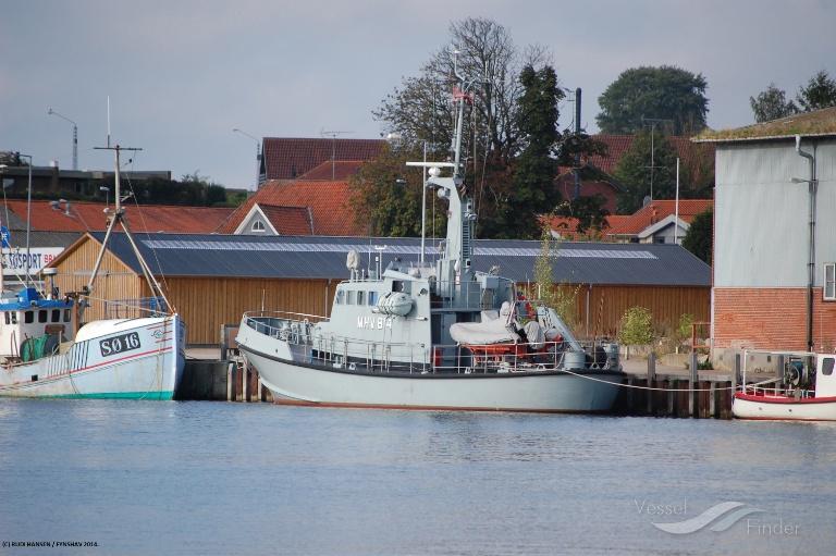 BUDSTIKKEN (MMSI: 219000549) ; Place: Sønderborg Sydhavn (Jyllands siden)