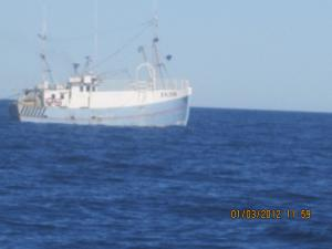Photo of HM86 JULIE DIREMO ship