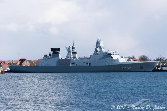 HDMS NIELS JUEL (MMSI: 219105000)