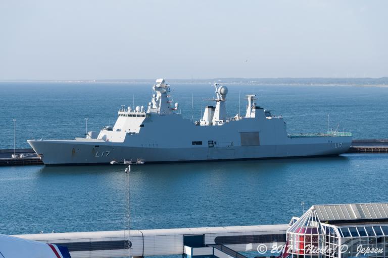 HDMS ESBERN SNARE (MMSI: 220191000)