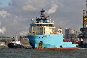 Photo of MAERSK TRADER ship
