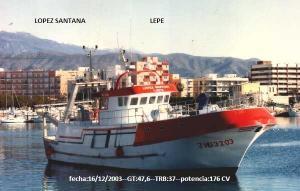 Photo of LOPEZ SANTANA ship