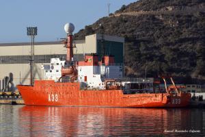 Photo of SPS R/V HESPERIDES ship