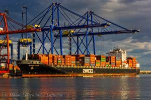 Photo of ZIM ONTARIO ship