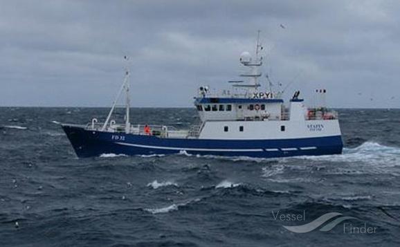 SKORIN (MMSI: 231343000) ; Place: TOFTIR Faroe Islands