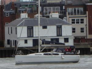 Photo of AEOLUS ship