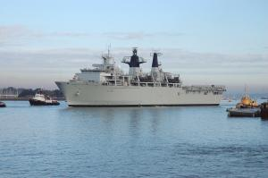 Photo of HMS ALBION ship