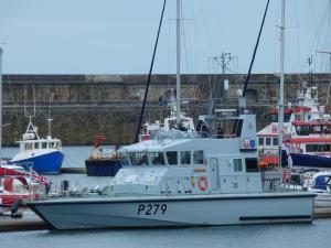 Photo of HMS BLAZER ship